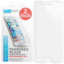 Ultra Clear Shockproof Tempered Glass Screen Protector For Apple iPhone 7 & 8
