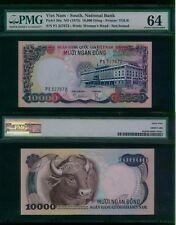 Vietnam 10000 Dong, 1975, P 36a (not specimen) PMG 64  UNC  EXTREMELY  RARE