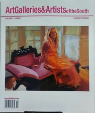 Art Galleries & Artists of the South Vol 14 Issue 2  FREE SHIPPING sb