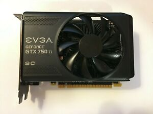 EVGA NVIDIA GeForce GTX 750 Ti SuperClocked GPU Gaming Graphics Video Card