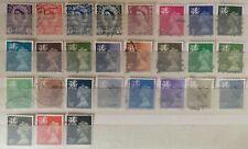 Briefmarken Großbritannien/ Regional Wales LOT Dauermarken gestempelt o