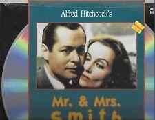 MR. & MRS. SMITH-LOMBARD/HITCHCOCK-LASERDISC MINT IN ORIG. SHRINKWRAP