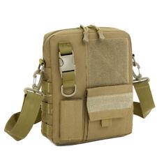 3.5L Molle Tactical Messenger Bag Mens Military Waterproof Nylon Crossbody Packs