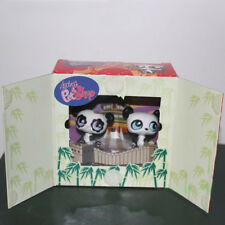 Old Littlest Pet Shop toy LPS toy panda boxed Christmas gift