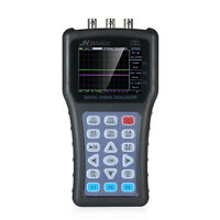 Dual Channel Oscilloscope & Function Signal Generator Handheld Portable J5G2