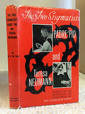 THE 2 STIGMATISTS PADRE PIO & TERESA NEUMANN Charles Carty 1956 Catholic, saints