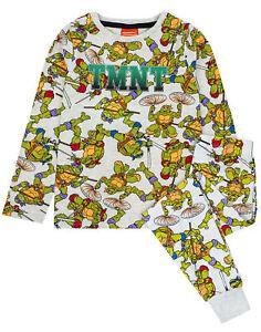 Teenage Mutant Ninja Turtles All Over Print Boy's Kids Pyjamas Set