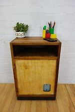 VINTAGE SCHOOL LAB ART CRAFT DESK PLAN VINTAGE RETRO DRAWERS INDUSTRIAL ESAVIAN