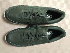 Asics Gel SAMPLE/NEW Men's Size 9 Olive Green Cream Athletic Sneaker Shoe
