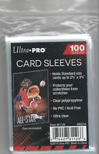 100 Ultra Pro Soft Penny Sleeves - Acid Free, No PVC!!!