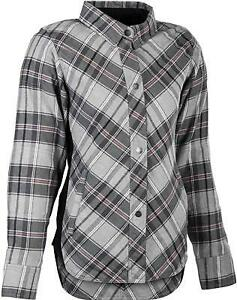 Highway 21 Women's Rogue Flannel Pink/Grey - Size Small - 489-1451S