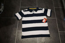 Boys Navy and White Polo T-Shirt - 9 years - **BNWT** RRP £14.00