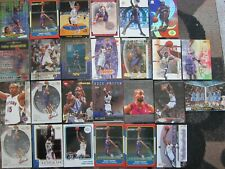 VINCE CARTER 26 Card Lot TORONTO RAPTORS UNC Tar Heels NORTH CAROLINA Inserts