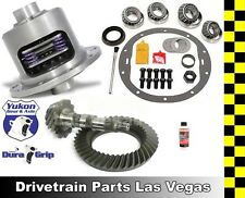 GM 8.875 Chevy 12 Bolt Car 3.73 Ring and Pinion Yukon Duragrip Posi Gear Package
