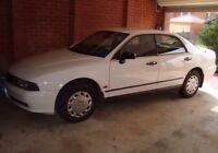 Wrecking  Mitsubishi Magna 1998 TF White