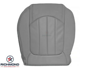 2008-2012 Buick Enclave -Driver Side Bottom Perforated Leather Seat Cover Gray
