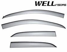 For 13-14 Buick Encore WellVisors Side Window Visors Deflectors W/ Black Trim