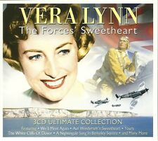 VERA LYNN THE FORCES' SWEETHEART - 3 CD ULTIMATE COLLECTION