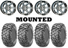 Kit 4 Maxxis Bighorn 2.0 Tires 28x9-14/28x11-14 on ITP SS212 Machined Wheels IRS