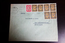 Finland Stamps 2 Rare 1930s Clean Covers with Multiple Usages VF
