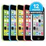 Apple iPhone 5c - 8GB 16GB 32GB - Unlocked SIM Free Smartphone Various Colours