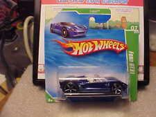 Hot Wheels 2010 Treasure Hunt #7 Ford GTX1 on Short Card