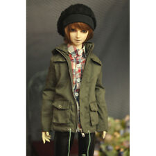 Green Overcoat  Long Outfit Coat For 1/3 24in Male BJD SD AOD DD DZ LUTS DOLL