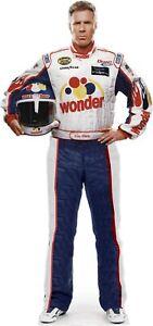"Ricky Bobby -Will Ferrell -Nascar Driver -76"" Tall Cardboard Cutout Standee"