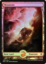 Full Art Land Mountain x 10 (2 each art) (Battle for Zendikar) MTG (Mint)
