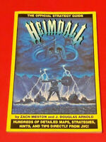 Heimdall: The Official Strategy Guide Sega CD Free Shipping