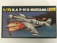 Heller N.A P-51D Mustang - 1/72 Scale - Airplane Model Kit No.268 - (51)