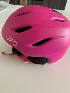 Giro ERA Womens Snowboard Ski Helmet Matte Magenta Fade Small
