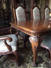 HENREDON ALFRESCO DINING ROOM TABLE CHAIRS RUG FRENCH COUNTRY OLD WORLD ELEGANCE