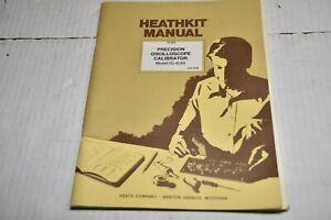 1983 MANUAL - HEATHKIT Oscilloscope Calibrator IG-4244 w/ Schematic