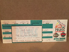 The Allman Brothers Concert Ticket Stub 8-17-1997