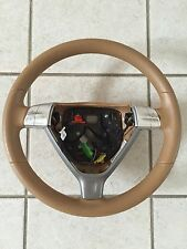 997 PORSCHE STEERING WHEEL TAN