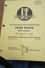 JOHN DEERE 1020~1520~2020 DIESEL~GAS TRACTOR SHOP SERVICE~REPAIR Manual I&T JD32