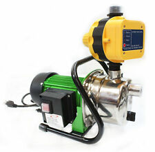 1.6HP JET WATER PUPM Pressure Booster Water Jet Stainless Pump Self-Priming