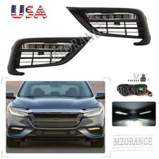 Led Drl Fog Light Lamp For Honda Insight 2019-20 Wiring Switch+Other Accessories