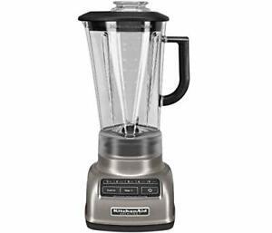 KitchenAid 5-Speed Blender RKSB1570CS, 56-Ounce, Silver