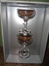 Hortense Hewitt - Champagne - Bride & Groom - Wedding Glasses - New