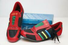 NOS Vintage Adidas Eddy Merckx Challenge Road Bike Shoes Made in France Red 40.6