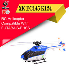 Wltoys XK EC145 K124 6CH 3D 6G Brushless Motor BNF RC Helicopter Aircraft Drone