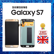 Samsung Galaxy S7 Touch Digitizer Screen Replacement - Gold - NEW
