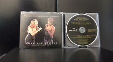 Mariah Carey Whitney Houston - When You Believe 4 Track CD Single