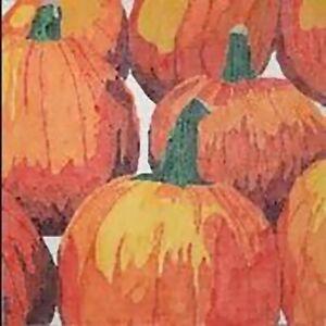 Needlepoint Handpainted Jean Smith Farmers Market Pumpkin Patch 14x14