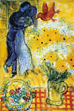 Les Amoureux Poster Print by Marc Chagall, 24x36