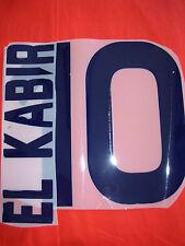 KIT EL KABIR 10 BLU SCURO X MAGLIA CALCIO CAGLIARI KAPPA NUOVO NEW