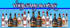 SPIRITS BAR RUNNER 4 - ADD YOUR NAME/ SLOGAN - PERSONALISED FREE