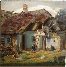 Wilhelm Legler (Pisino, Istrien 1875-1951 Wien) Am Bauernhof